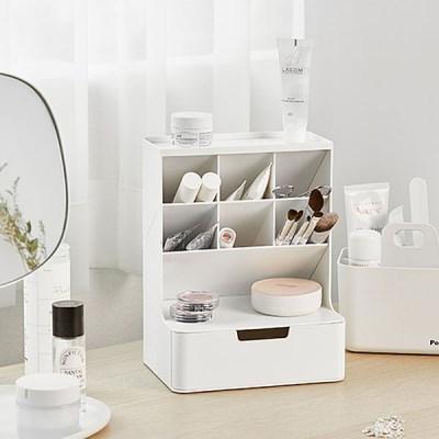화장품 브러쉬 정리함 / 테이블 미니 소품 수납 280415