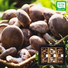 유기농 건표고버섯 흑화고 선물세트(흑화고260g, 슬라이