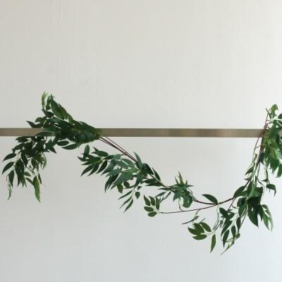 버드나무잎 가지 조화 넝쿨 행잉 가랜드