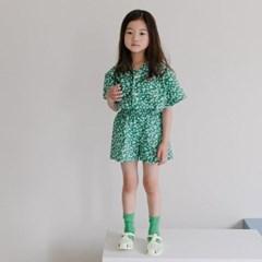 라) 꽃남방 아동 상하세트