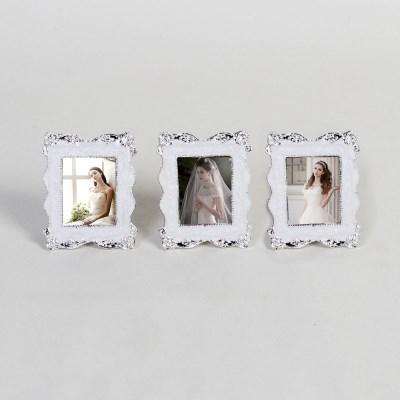 로라-은도금 보석 초미니 사진액자 3개묶음