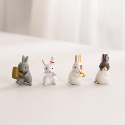 미니어처 숲속 토끼 1P