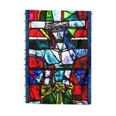 패브릭 포스터 스테인드글라스 십자가