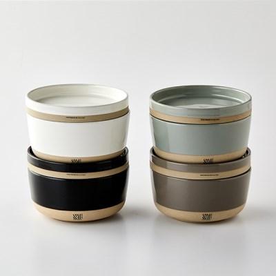1인 식기세트 포개다 혼밥 그릇세트 6P