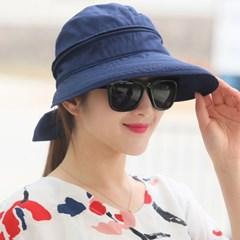 해오리 여성 햇빛가리개 탈부착 자외선차단 썬캡 모자_(2550425)