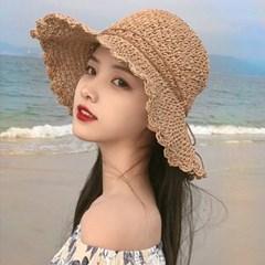 에뜨 컬러띠 포인트 여름모자 썬캡_(2548838)