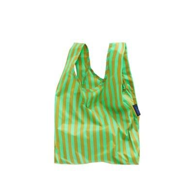 [바쿠백] 소형 베이비 에코백 장바구니 Lawn Stripe_(5995804)