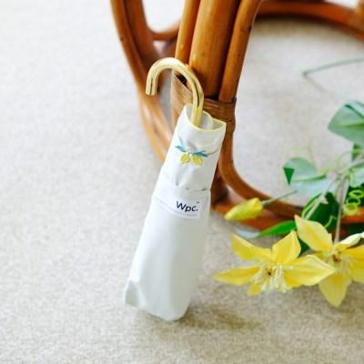wpc양산 레몬 임브로이더리 미니 암막 3단 양산 801-3244