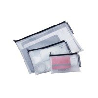 [TROIKA] ZIPPER BAGS 다용도 지퍼백 세트 (TRV30/BK)