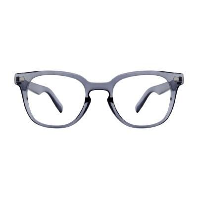 Dawn GRAY CRYSTAL 오버사이즈 투명 뿔테 안경