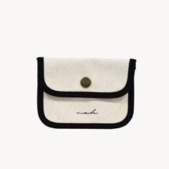 [Hard] Signature mini wallet - ivory