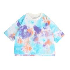 [마미버드] 물감 나염 티셔츠 (2color)