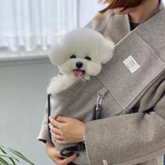 가을겨울 컴포터블 강아지 고양이 슬링백 봉쥬르뚜뚜