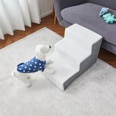 [모던하우스] 펫본) 안전한 관절보호 강아지 계단 3단