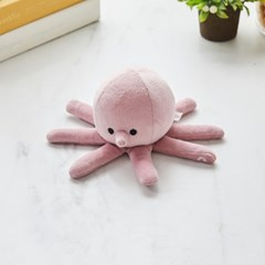 [모던하우스] 펫본) 탱글탱글 문어 삑삑이 장난감