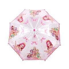 쥬쥬 리본 50 투명우산