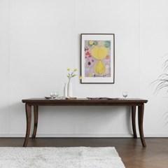 [헤리티지월넛] AK형 식탁/테이블 2000_(1718084)