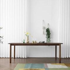 [헤리티지월넛] W형 식탁/테이블 1500_(1718083)