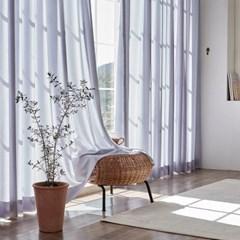 이너스 쉘위 나비주름 맞춤 쉬폰커튼 5색상 가로300 x 세로160이하