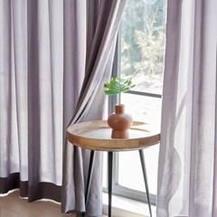 이너스 쉘위 나비주름 맞춤 쉬폰커튼 5색상 가로500cm x 세로160이하