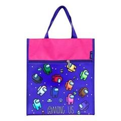 어몽어스 핑크 보조가방 신발주머니 초등학생 가방