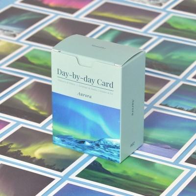 데이바이데이 카드 - Aurora