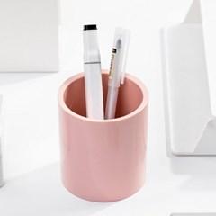 DELI 델리 부드러운 원형 원스톱 연필꽂이 색연필 펜정리함