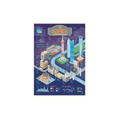 인포그래픽 포스터 - 상하이