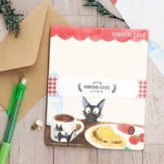 고양이 지지 편지지세트 (코리코카페)