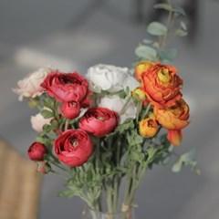 봄조화 동백꽃 인테리어플라워 여름 시들지않는꽃
