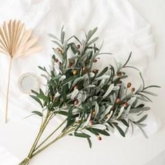 대형 올리브열매가지조화 인조나무 실크플라워 나뭇가지