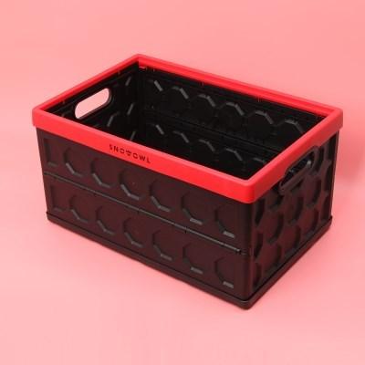 스노우아울 헥사 폴딩 카고 박스 레드