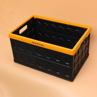 스노우아울 헥사 폴딩 카고 박스 오렌지