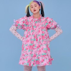 NEONMOON 21SS Rose Dress