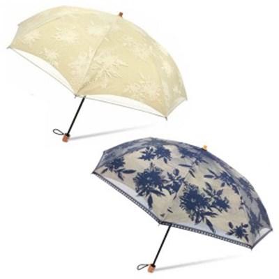 BRONZ 빈티지플라워 우양산 접이식 일본 수입 우산