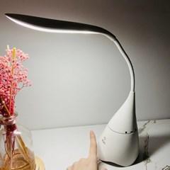 3단계 밝기조절 LED 블루투스 스피커 무선 스탠드