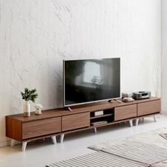 [데코마인] 오드린 1500 거실장 오픈형 TV다이