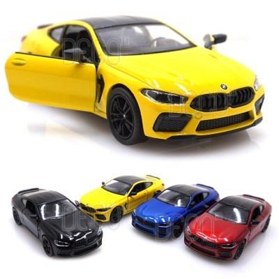 BMW M8 쿠페 미니카 다이캐스트