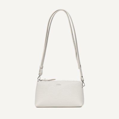 Zipper Mini Bag / Light gray