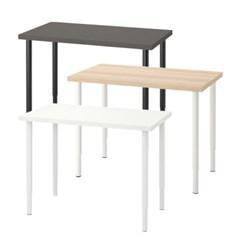 이케아 LINNMON/OLOV 길이조절 테이블 (100x60)