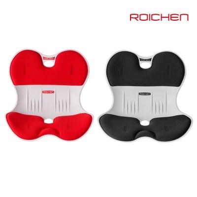 로이첸 체어 자세교정의자 2개 /여성용(레드)1개+남성용(블랙)1개