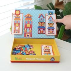 가방 마그넷북 건물이야기 자석퍼즐 패턴놀이
