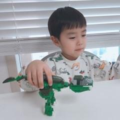 공룡블록 티라노사우루스 레고사이즈 블럭