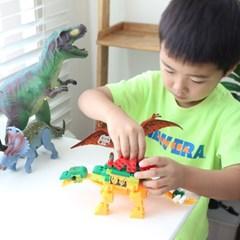 공룡블록 스테고사우루스 레고사이즈 블럭