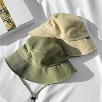 여자 캐주얼 대학생 20대 30대 오버핏 턱끈 벙거지 모자