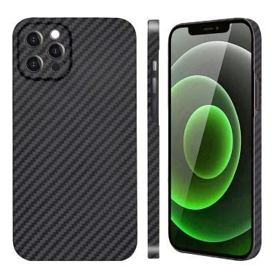 아이폰 12 Pro Max 페버 카메라 보호 풀 케블라 카본 케이스