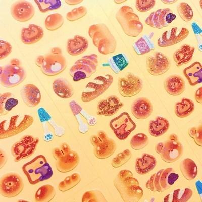 트윙클 빵빵 칼선 스티커