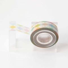 Argyle Check Masking Tape [Color Bonbon]