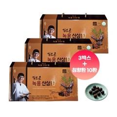 김오곤 녹용산삼 배양근골드 90포 (3개월분/침향환10환증정)