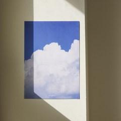 밍키트 화이트코튼 A4 캔버스 포스터